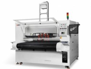 Máquina de Corte a Laser Com Alimentação Automática Inteligente e Quatro Cabeças de Projeção