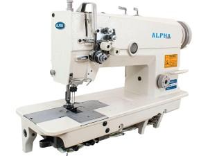 Máquina de Costura Pespontadeira Barra de Agulha Fixa Lançadeira Pequena ALPHA