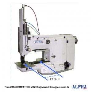 Máquina Eletrônica para Costurar Almofadas, Assentos de Cadeiras e Bancos Automotivos ALPHA