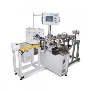 Máquina de Fechar Elástico Eletrônica com Alimentador e Corte de Elástico Automático ALPHA