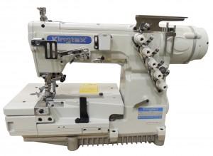 Máquina de Costura Galoneira Base Aberta com Lubrificação Automática e Motor Direct Drive KINGTEX