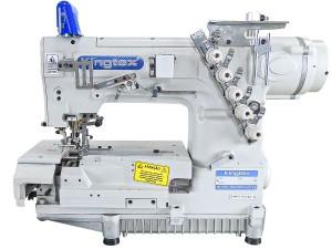 Máquina de Costura Galoneira Automática com Transporte Superior e Motor Direct Drive KINGTEX