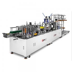 Máquina Automática de Fabricar Máscaras e Aplicar Elásticos KN95 DMP
