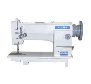 Máquina de Costura Reta Transporte Triplo 1 Agulha Para Tecidos Pesados e Couro ALPHA