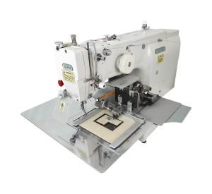 Máquina de Costura Industrial Filigrana Eletrônica para Aplicação de Etiquetas com Motor Servo Direct Drive e Área de Trabalho 220x100mm ALPHA