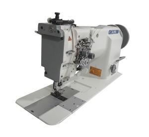 Máquina de Costura Pespontadeira Transporte Duplo 2 Agulhas Barra Alternada ALPHA Para Tecidos Pesados