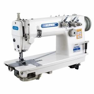 Máquina de Costura Reta Ponto Corrente 3 Agulhas para Tecidos Leves e Médios ALPHA