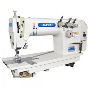 Máquina de Costura Reta Ponto Corrente 3 Agulhas para Tecidos Leves e Médios com Motor Direct Drive ALPHA LH-3830DD