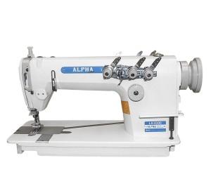 Máquina de Costura Industrial Ponto Reta Corrente Sem Catraca 3 Agulhas ALPHA