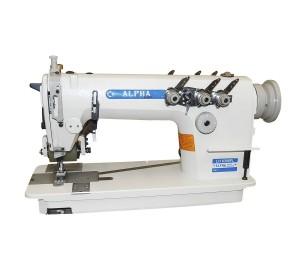 Máquina de Costura Industrial Ponto Corrente com Catraca 3 Agulhas ALPHA