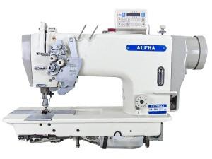 Máquina de Costura Pespontadeira Barra de Agulha Alternada Lançadeira Grande Eletrônica ALPHA