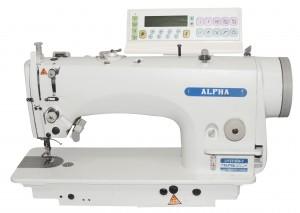 Máquina de Costura Reta Transporte Duplo Eletrônica para Tecidos Leves e Médios ALPHA