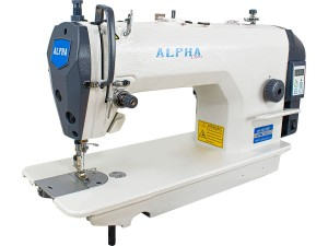 Máquina De Costura Industrial Reta ALPHA Com Motor Direct Drive E Painel Integrado LH-9802DP
