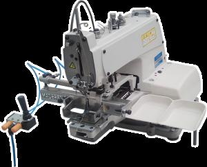 Máquina De Costura Botoneira Para Pregar Etiquetas de Metal ALPHA