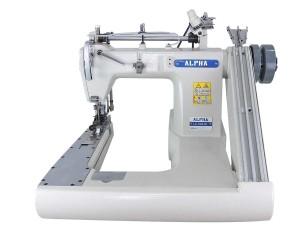 Máquina de Costura Fechadeira de Braço 3 Agulhas Com Catraca de Ferro Superior e Inferior ALPHA