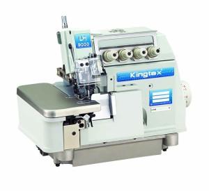 Máquina Interlock 5 Fios para Tecidos Pesados 7000RPM KINGTEX
