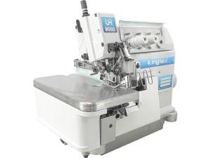 Máquina Overlock 4 Fios Ponto Cadeia Alta Rotação com Lubrificação Automática 6500RPM KINGTEX