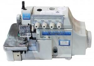 Máquina Overlock 4 Fios Ponto Cadeia com Sensor de Início de Costura e Motor Direct Drive KINGTEX