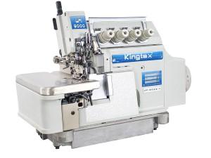 Máquina Interlock 5 Fios para Tecidos Leves e Médios com Motor Direct Drive KINGTEX