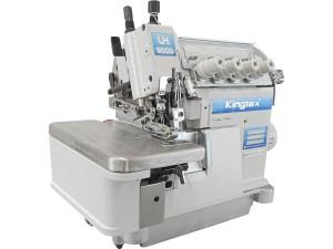 Máquina Overlock 4 Fios Ponto Cadeia com Transporte Superior KINGTEX