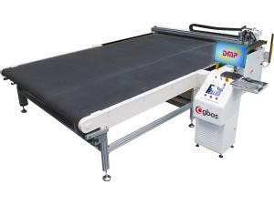 Máquina de Corte Com Faca Oscilante Para Múltiplas Camadas e Sistema Pneumático 1600x1200mm