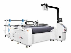 Máquina de Corte Com Sistema Pneumático, Alimentação Automática E Projetor Duplo 1600x1200mm