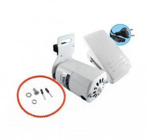 Motor para Máquina de Costura Doméstica Completo Branco 63MM