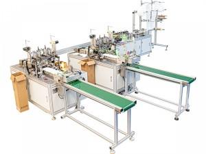 Máquina Automática de Fabricar Máscaras e Aplicar Elásticos GBOS