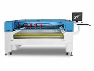 Máquina de Corte a Laser Automática com 4 Cabeças e Esteira 1600x750mm