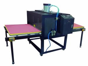 Prensa Térmica Dupla com Bandeja de Aquecimento Pneumático para Sublimação Transfer Área de 80x100cm PREMIER