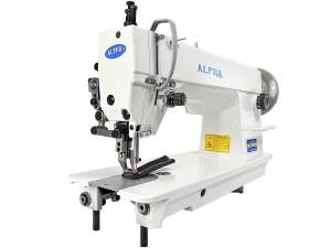 Máquina de Costura Reta Transporte Duplo 1 Agulha Para Tecidos Médios E Pesados ALPHA