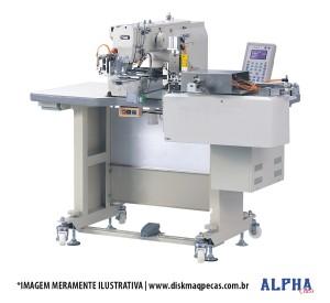 Máquina Eletrônica com Alimentação e Corte Automático para Aplicação de Passante ALPHA