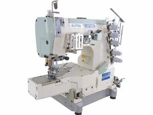 Máquina de Costura Galoneira Cilíndrica Sem Catraca 3 Agulhas ALPHA