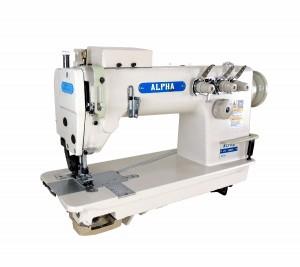 Máquina de Costura Reta Ponto Corrente 3 Agulhas com Catraca para Tecidos Leves e Médios ALPHA