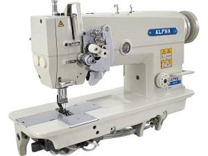 Máquina de Costura Pespontadeira Barra de Agulha Alternada Lançadeira Grande Alpha