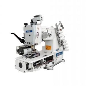 Máquina de Costura Industrial Elastiqueira 4 Agulhas ALPHA LH-8008-04064P