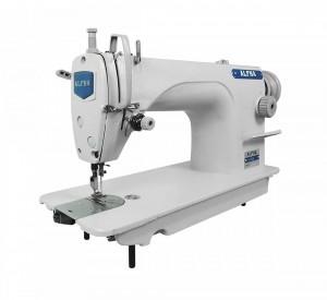 Máquina de Costura Industrial Reta ALPHA Ideal Para Tecidos Leves e Médios
