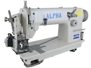 Máquina de Costura Industrial Reta Com Aplicador Duplo de Lantejoula Eletrônico ALPHA