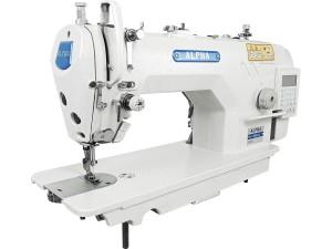 Máquina De Costura Industrial Reta ALPHA Com Motor Direct Drive Para Tecidos Pesados