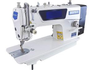 Máquina De Costura Industrial Reta ALPHA Eletrônica com Instrução por Voz E Motor Direct Drive Para Tecidos Pesados