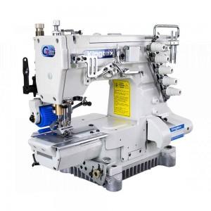 Máquina de Costura Galoneira Cilíndrica de Trançador Duplo com Catraca Traseira KINGTEX