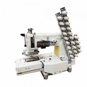 Máquina de Costura Elastiqueira 12 Agulhas com Lubrificação Automática KINGTEX
