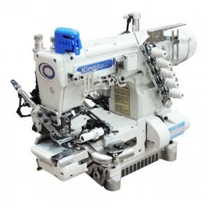 Máquina Galoneira Cilíndrica Eletrônica com Refilador, Catraca Traseira e Sugador KINGTEX