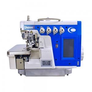 Máquina Overlock 4 Fios Ponto Cadeia Eletrônica Automática com Painel LED Touch Screen e Motor Direct Drive KINGTEX
