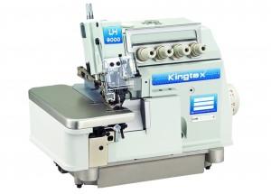Máquina Overlock 4 Fios Ponto Cadeia Alta Rotação com Lubrificação Automática 7500RPM KINGTEX