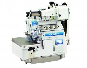 Máquina Overlock 3 Fios com Aparelho de Elástico Zeromax KINGTEX