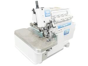 Máquina Overlock 4 Fios Ponto Cadeia com Corte e Sucção Lateral de Correntinha e Coletor de Resíduos KINGTEX