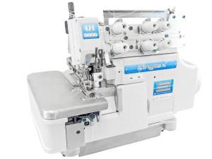 Máquina Overlock 3 Fios com Embutidor de Correntinha Simplificado e Motor Direct Drive KINGTEX