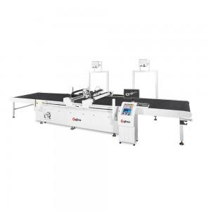 Máquina de Corte de Faca Assíncrono de Cabeça Dupla Grande Formato 1600x2000mm
