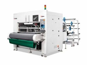 Máquina de Corte Com Faca Oscilante Inteligente, Disco Rotativo e Cabeça Dupla Assíncrona 1600x600mm